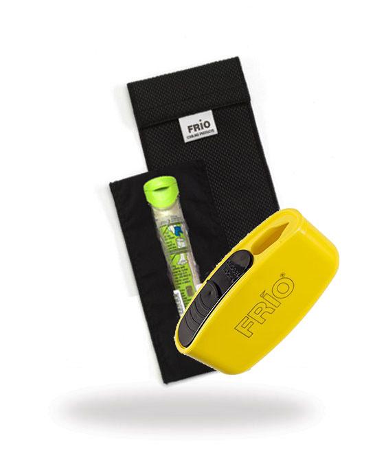 Pocket Sharps Bin Duo Black Frio Insulin Cooling Wallet