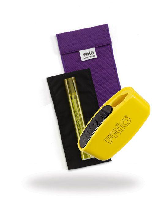 Pocket Sharps Bin Duo Purple Frio Insulin Cooling Wallet