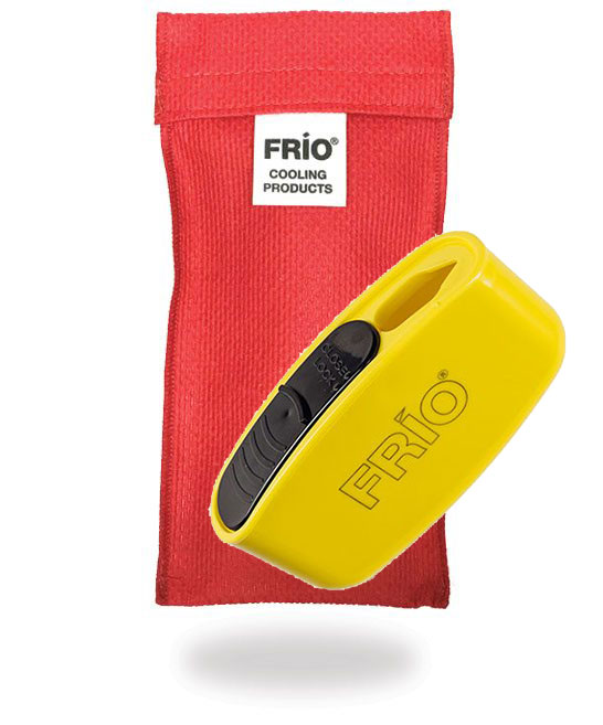 Pocket Sharps Bin Duo Red Frio Insulin Cooling Wallet